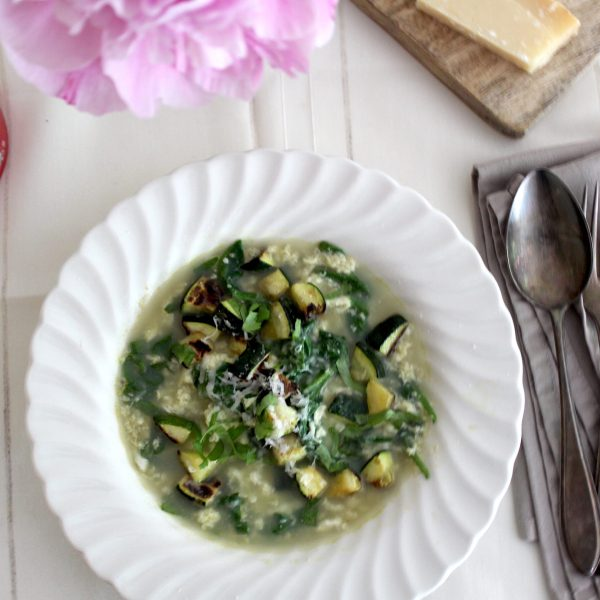 Straciattella soep recept
