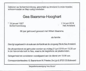 Gea Baarsma