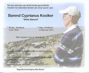 Barend Kooiker