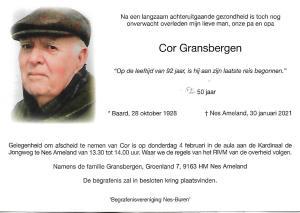 Cor Gransbergen