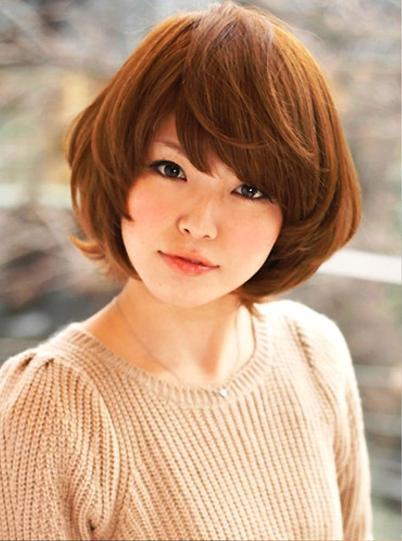 Pictures Of Short Japanese Hairstyle For Fall