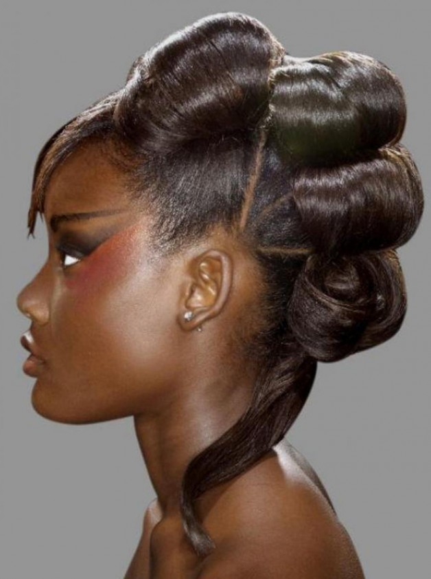 Weave Updo Hairstyles For Black Women