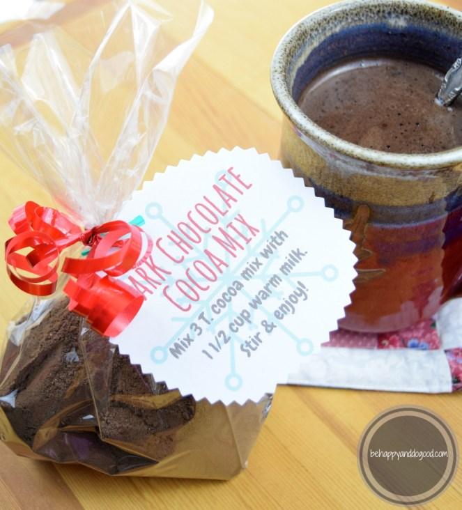 dark chocolate cocoa mix
