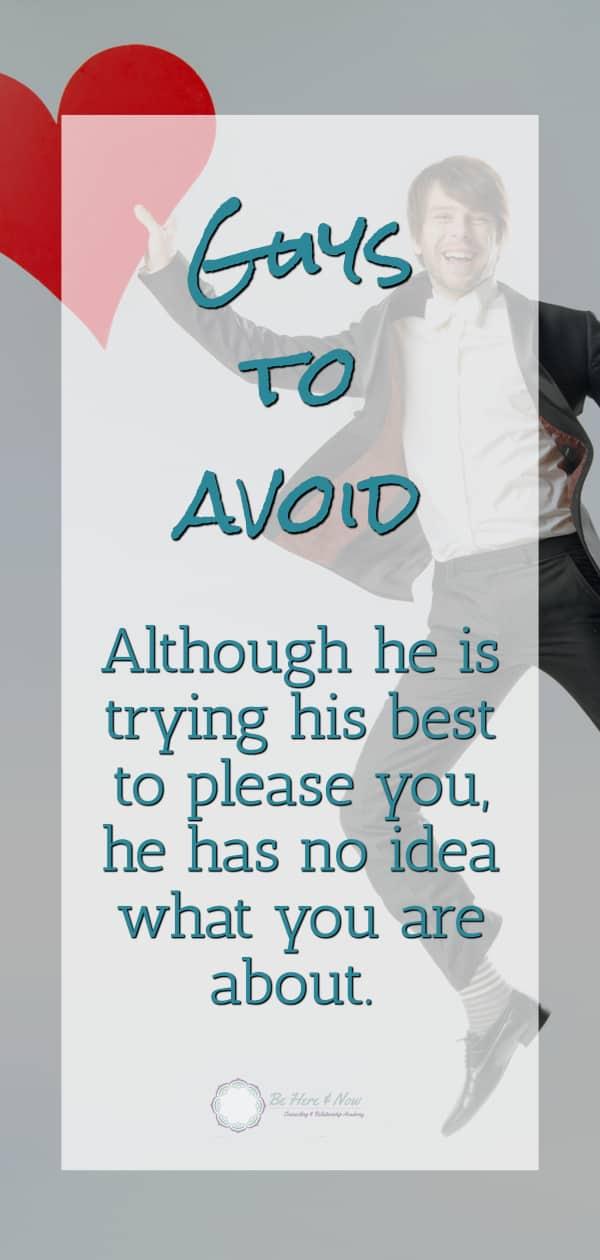 guys to avoid
