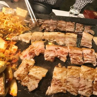 Happy Holidays – Pigging out at Eight Korean BBQ (the last post for 2016)