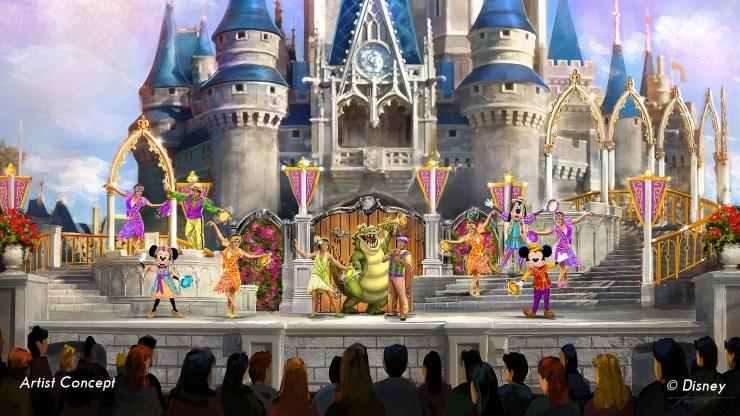 Mickey's Royal Friendship Faire Concept