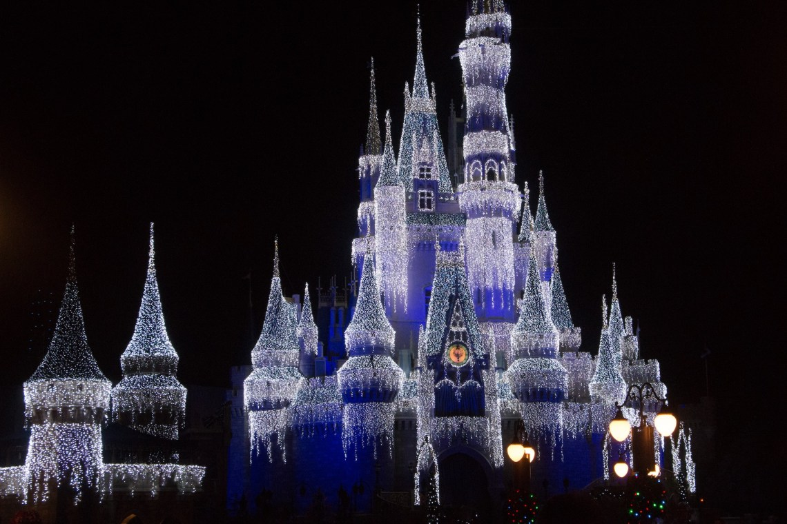 Cinderella's Dream Castle Lights