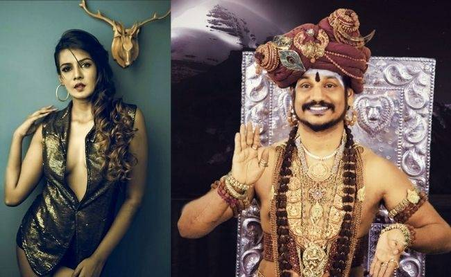 Image result for meera mithun nithyananda