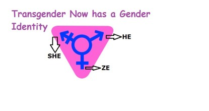 He, She, ZE | Transgender Has Gender Identity, Expression 45 Behind History
