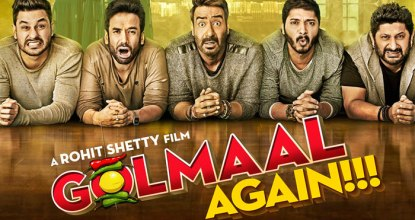 Golmaal Again Review | Experience of Fearing Comedy 20 Behind History