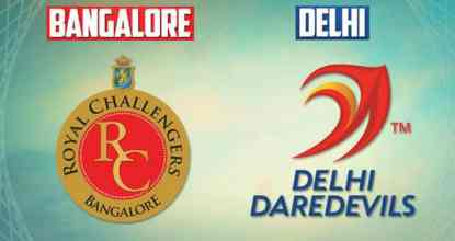 Delhi Daredevils vs Royal Challengers Bangalore | 45th Match | Dream11 Team 30 Behind History