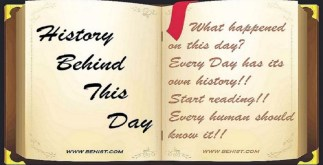 Behind History For April 12 - Today in History 1 Behind History