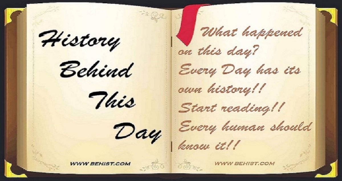 Behind History For April 5 - Today in History 1 Behind History