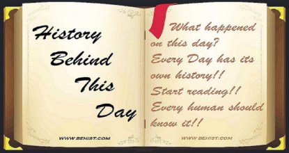 Behind History For November 12 - Today in History 2 Behind History
