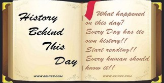 Behind History for September 9 - Today in History