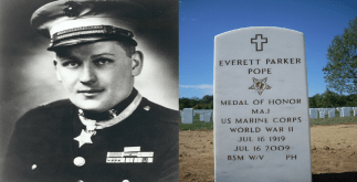 History of Captain Everett Pope - Battle of Peleliu 5 Behind History