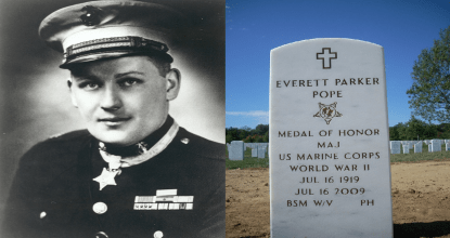 History of Captain Everett Pope - Battle of Peleliu 28 Behind History
