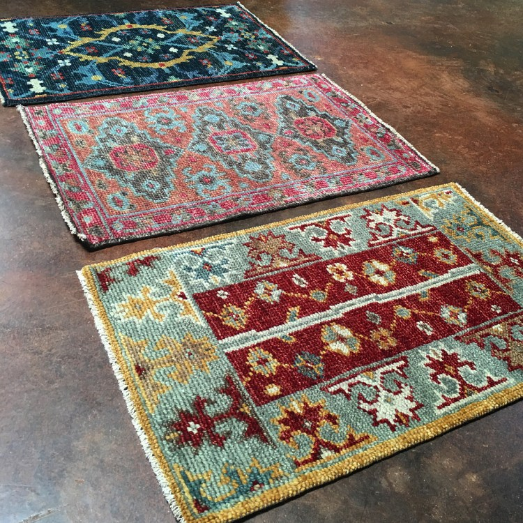 Vintage-Tribal Rug Inspired Transitional Rug Samples