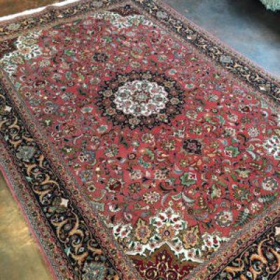Masterpiece Tabriz Silk Rug