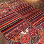 colorful wool rug