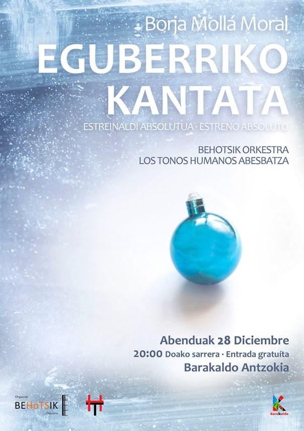 Eguberriko Kantata Borja Mollá
