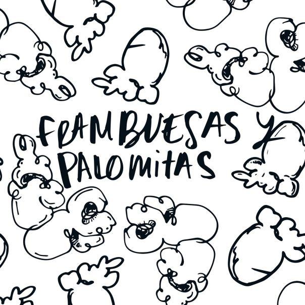 Frambuesas y Palomitas Aneguria