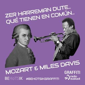Behotsik Graffiti Mozart Miles Davis