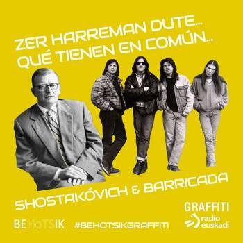 #BehotsikGraffiti Shostakovich Barricada