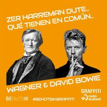 #BehotsikGraffiti David Bowie Wagner