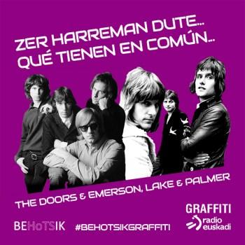 #BehotsikGraffiti Emerson Lake Palmer The Doors