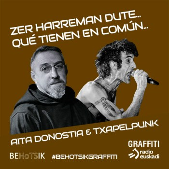 #BehotsikGraffiti Txapelpunk Aita Donostia