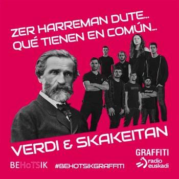 #BehotsikGraffiti Skakeitan Verdi