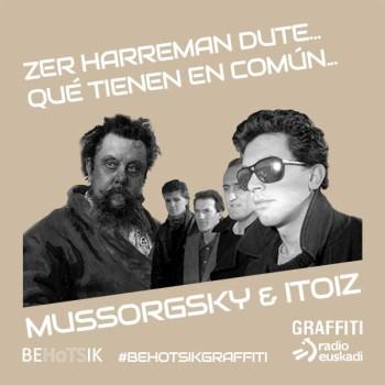 #BehotsikGraffiti Mussorgsky Itoiz