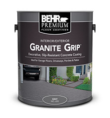 Granite Grip Concrete Paint Coating BEHR PREMIUM Behr