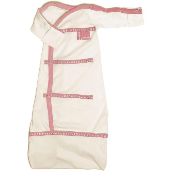 pink sleep pod organic cotton baby clothing soft