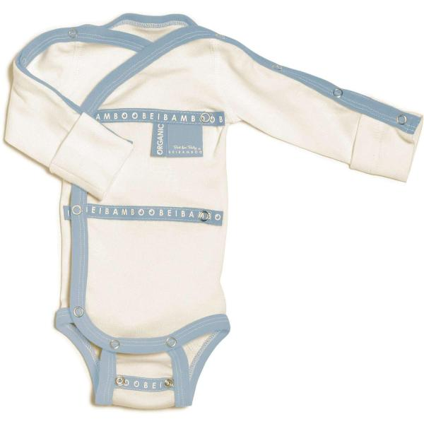 Baby Grow wraparound Denim hospital collection