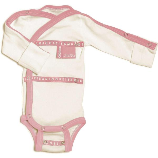 Baby Grow wraparound Rose hospital collection
