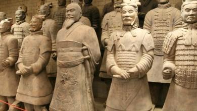 """صورة هل ألهمَ اليونانيون القدماء . . الصينيين في بناء جيش """"تيراكوتا"""""""