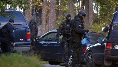 """صورة السويد """" الشرطة تقوم بعدة مداهمات في ستوكهولم"""