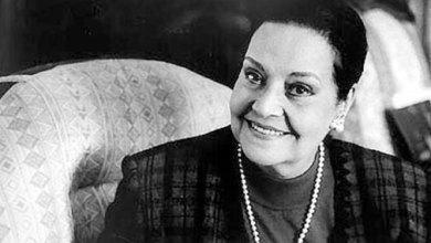 صورة وفاة الفنّانة مديحة يسري