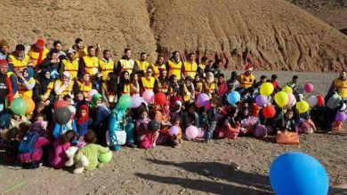 صورة جمعية شباب الخير الدار البيضاء وبشراكة مع جمعية We don't wait السويدية في عمل خيري بأزيلال