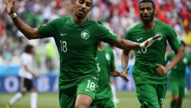 صورة مونديال 2018: السعودية تفوز على مصر 2-1 في الوقت القاتل