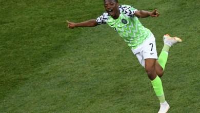 صورة مونديال 2018: موسى يهدي نيجيريا الفوز وينعش آمال الارجنتين