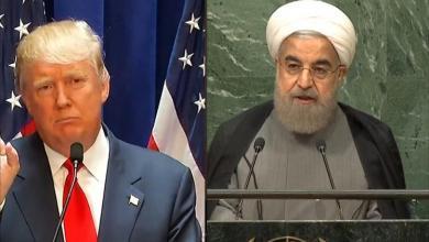صورة ترامب يتوعد روحاني بمصير مشابه لصدام حسين