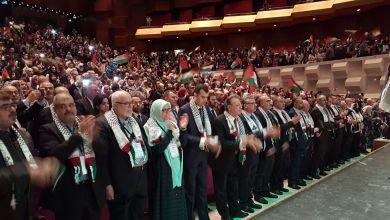 صورة بالوحدة و الصمود حتما سنعود شعار المؤتمر القادم لفلسطيني أوربا
