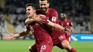 صورة قطر تتخطى العراق باقدام عراقية وتبلغ ربع النهائي كأس آسيا 2019