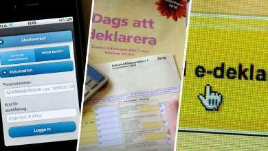 صورة مصلحة الضرائب السويدية تحذر من الإحتيال
