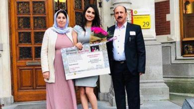 صورة دلال.. عراقية أبهرت أساتذة الجامعات في أوروبا