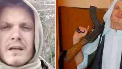 صورة السويدي مايكل سكرومو، المنتمي الى تنظيم داعش الارهابي، اعتقل في سوريا