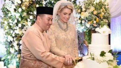 صورة ولى عهد ماليزيا يتزوج حسناء سويدية